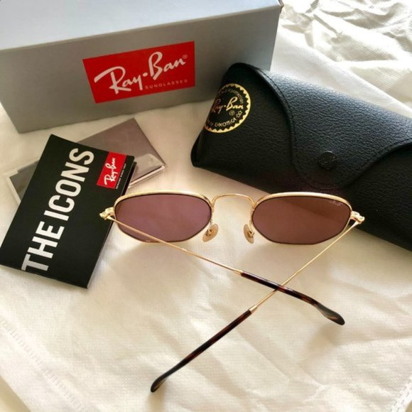 Ray-Ban Sunglasses Gold FrameRose Gold RB3548